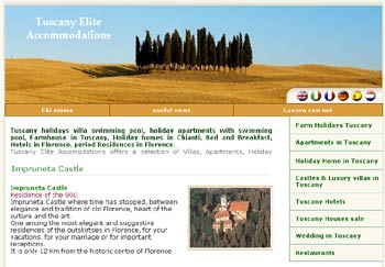 Tuscany Elite Accommodations